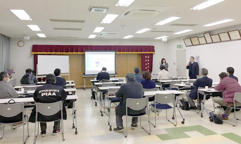 那珂川市商工会勉強会主催勉強会-吉村泰美